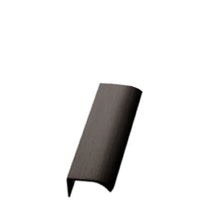 Furnipart Edge Straight - 100mm Long - Antique Bronze