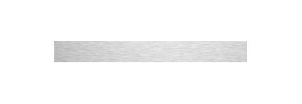 Waterproof Brushed Aluminium - 100mm x 3000mm