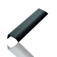 Furnipart Edge Straight - 200mm Long - Brushed Matt Black