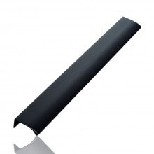 Furnipart Edge Straight - 350mm Long - Brushed Matt Black
