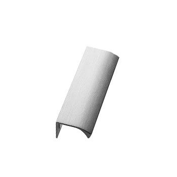 Furnipart Edge Straight - 100mm Long - Inox