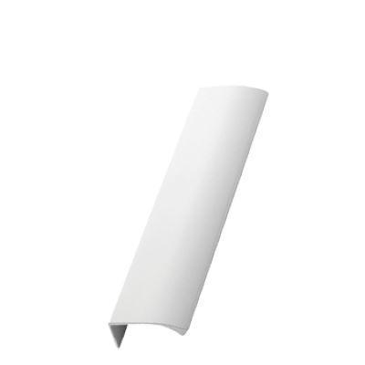 Furnipart Edge Straight - 200mm Long - White