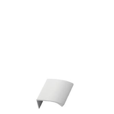 Furnipart Edge Straight - 40mm Long - White