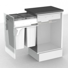 GENERIC BIN KIT 70L TO SUIT 450MM CABINET