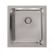 Platinum Inset Single Bowl Sink 28 Litres