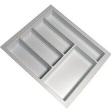 Cutlery Tray Suit 500mm Wide Drawer (White)