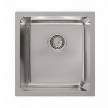Platinum Inset Single Bowl Sink 28 Litres