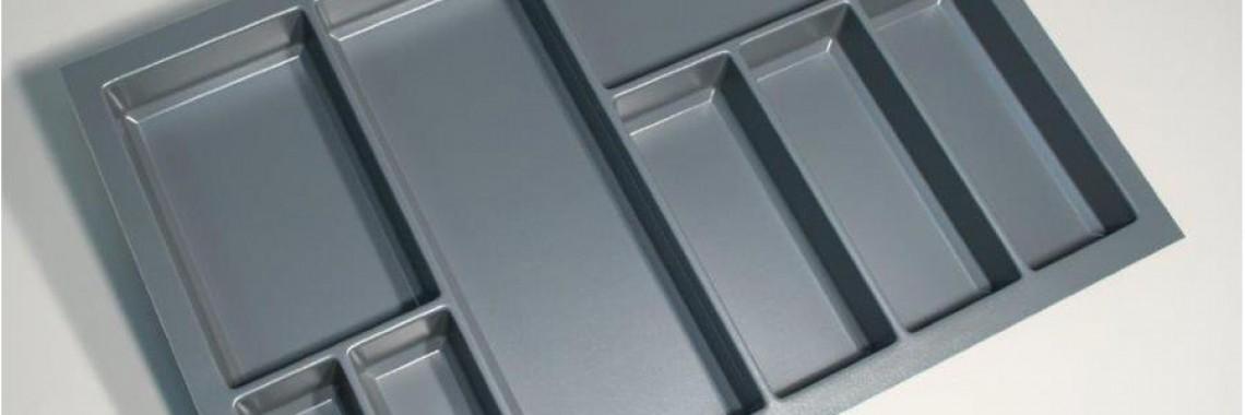 Cutlery Tray Large Grey KFSK80G