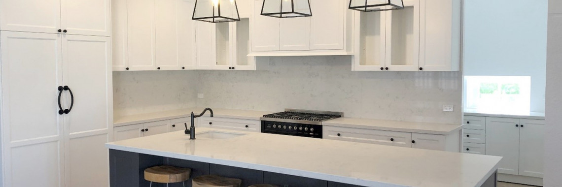 Hamptons Style Kitchen from eKitchens DIY Custom Made