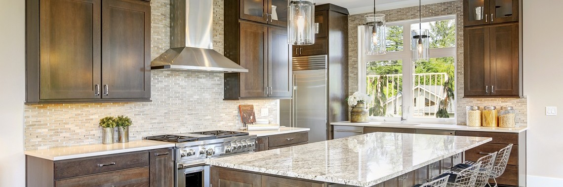 Kitchen-With-Melamine-Cabinet-Doors-By-The-Kitchen-Door-Company