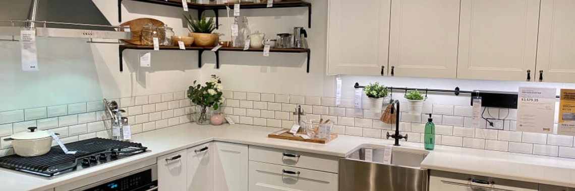 ikea kitchen cabinets in Perth