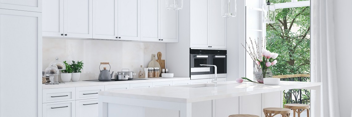 White-Painted-Kitchen-Cabinet-Doors