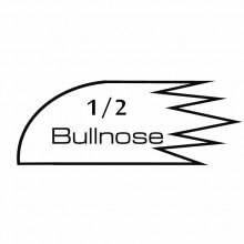 Raw MDF Half Bullnose Cornice Mould