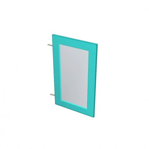 Laminex ABS Edged Melamine Glass Panel Door