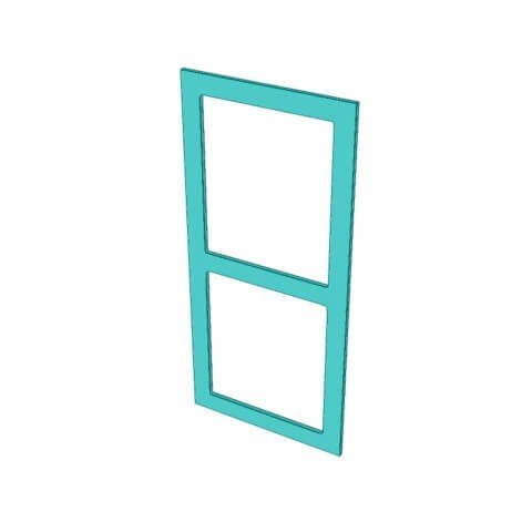 Stylelite® Acrylic 2 Hole Frame