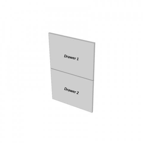 2 Drawers Dimensions