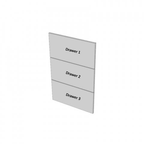 3 Drawers Dimensions