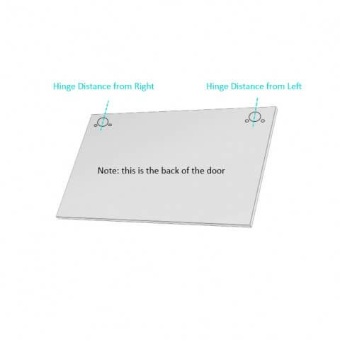 How to Order Stylelite® Acrylic Lift Up Door