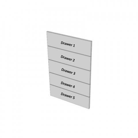 5 Drawers Dimensions