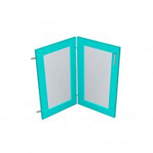 Stylelite® Acrylic Corner Glass Panel Doors