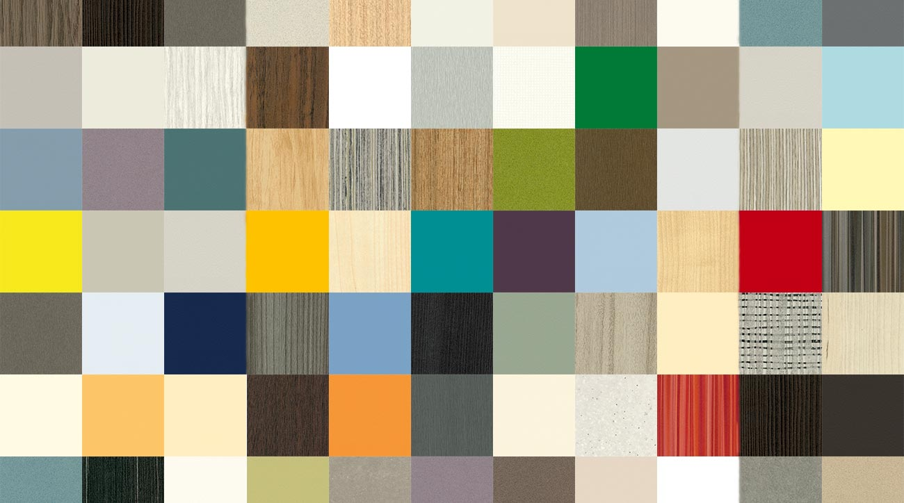 200 Colour Patterns for Kitchen Doors
