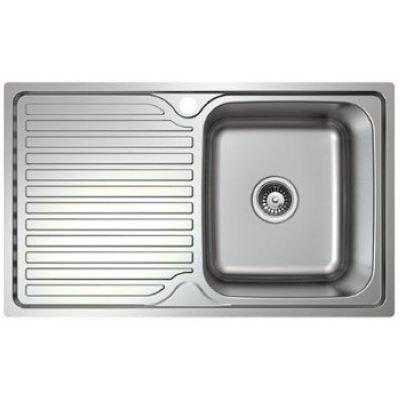 Platinum Sink - Single Bowl - Right Hand Bowl